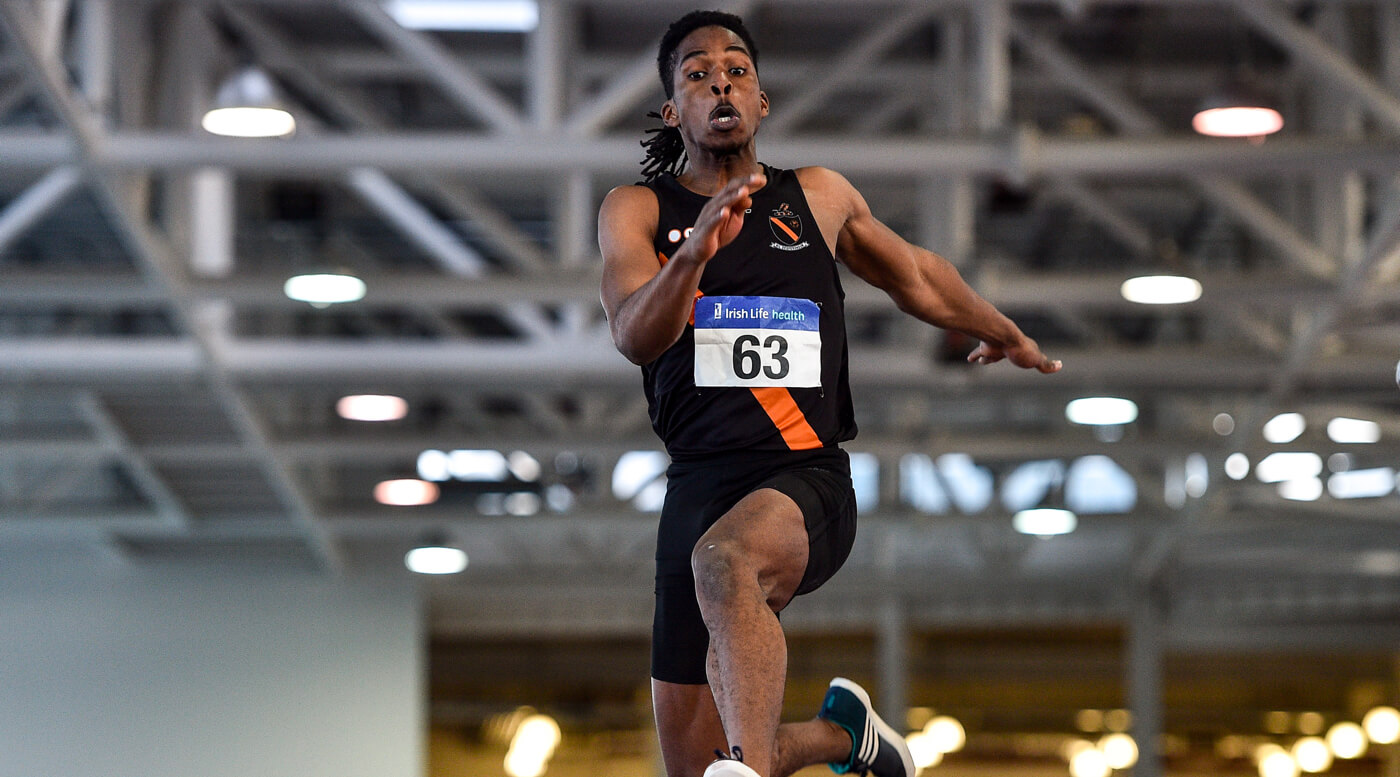 Olusa soars to Combined Events title