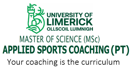 Master of Science in Applied Sports Coaching (University of Limerick)