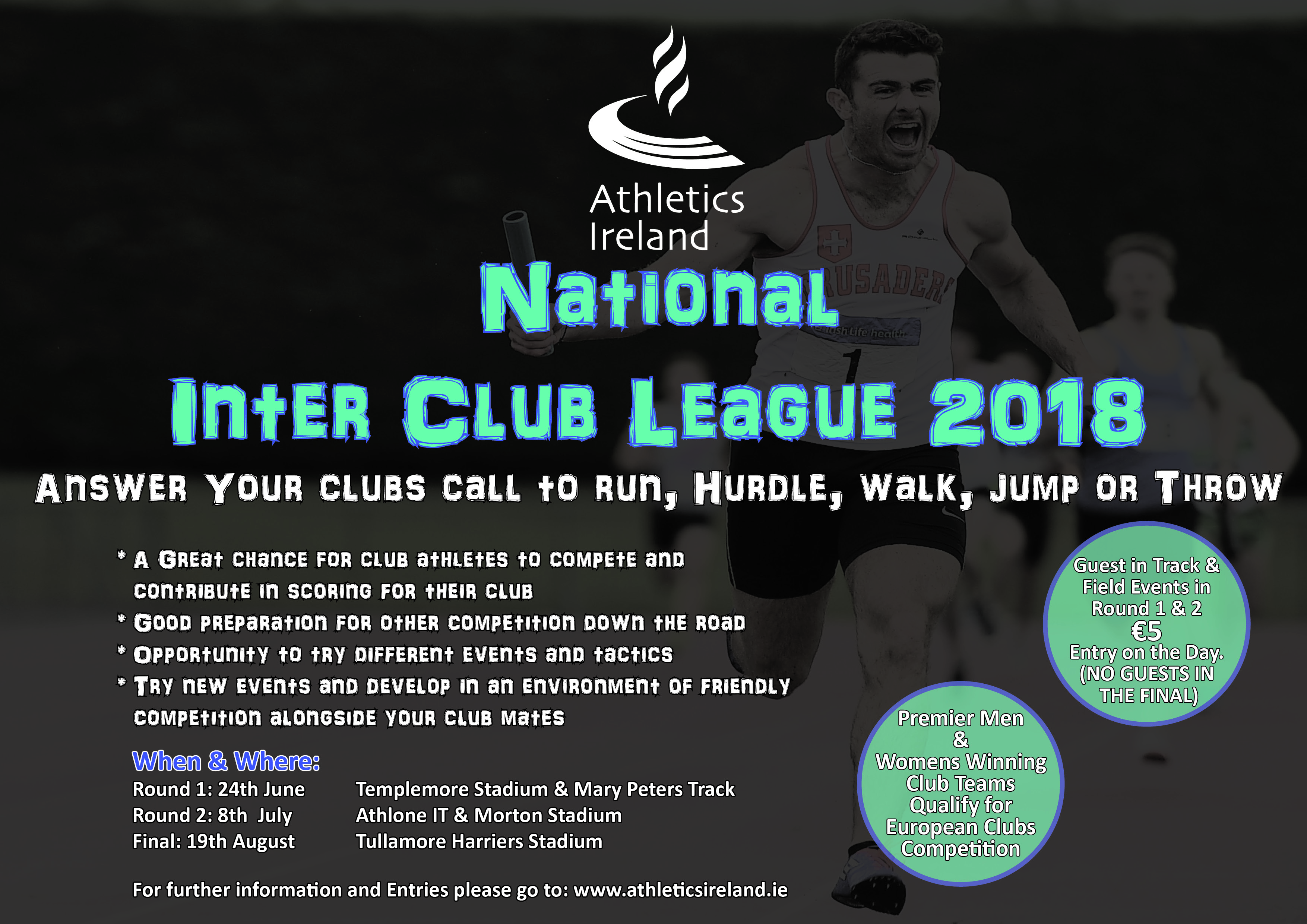 The Irish Life Health National Inter Club League is back for 2018!
