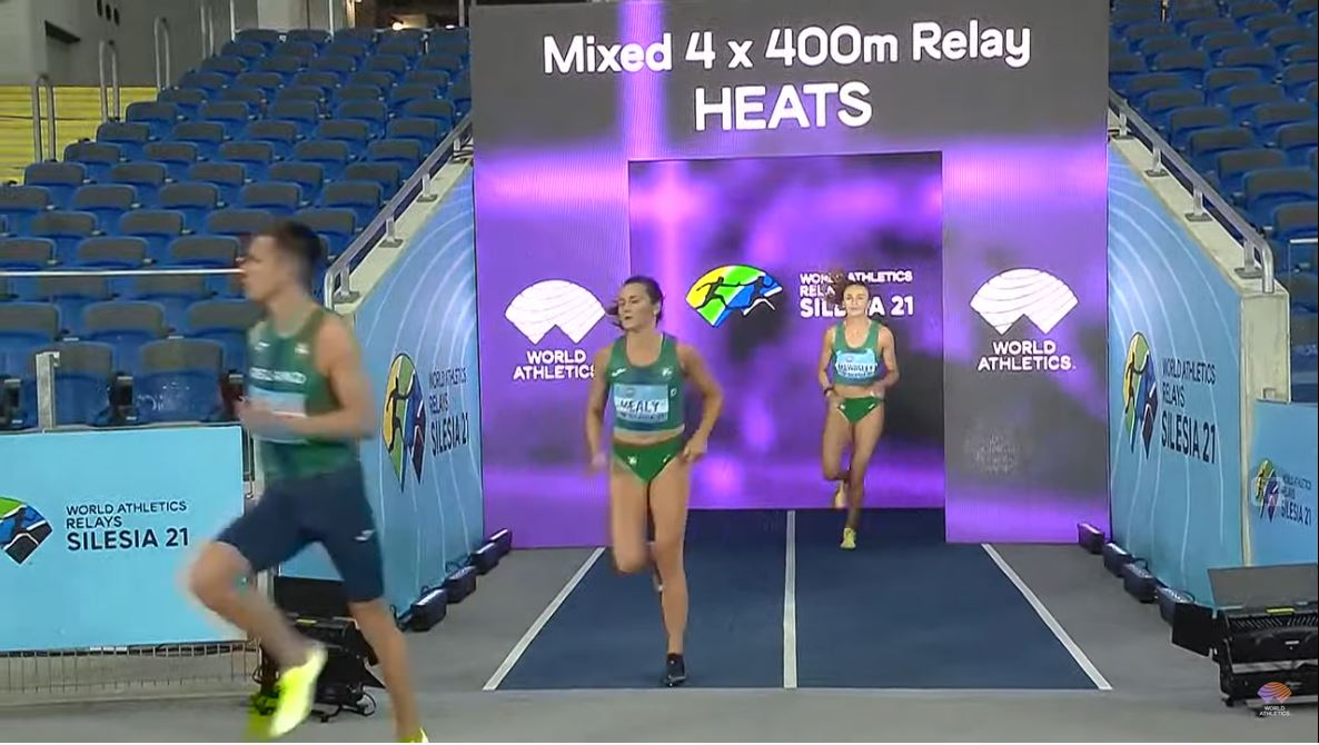 Irish relay teams secure Olympic and 2022 World Championship qualification