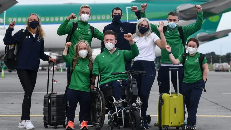 Best of luck to Team Ireland at Tokyo 2020 Paralympic Games