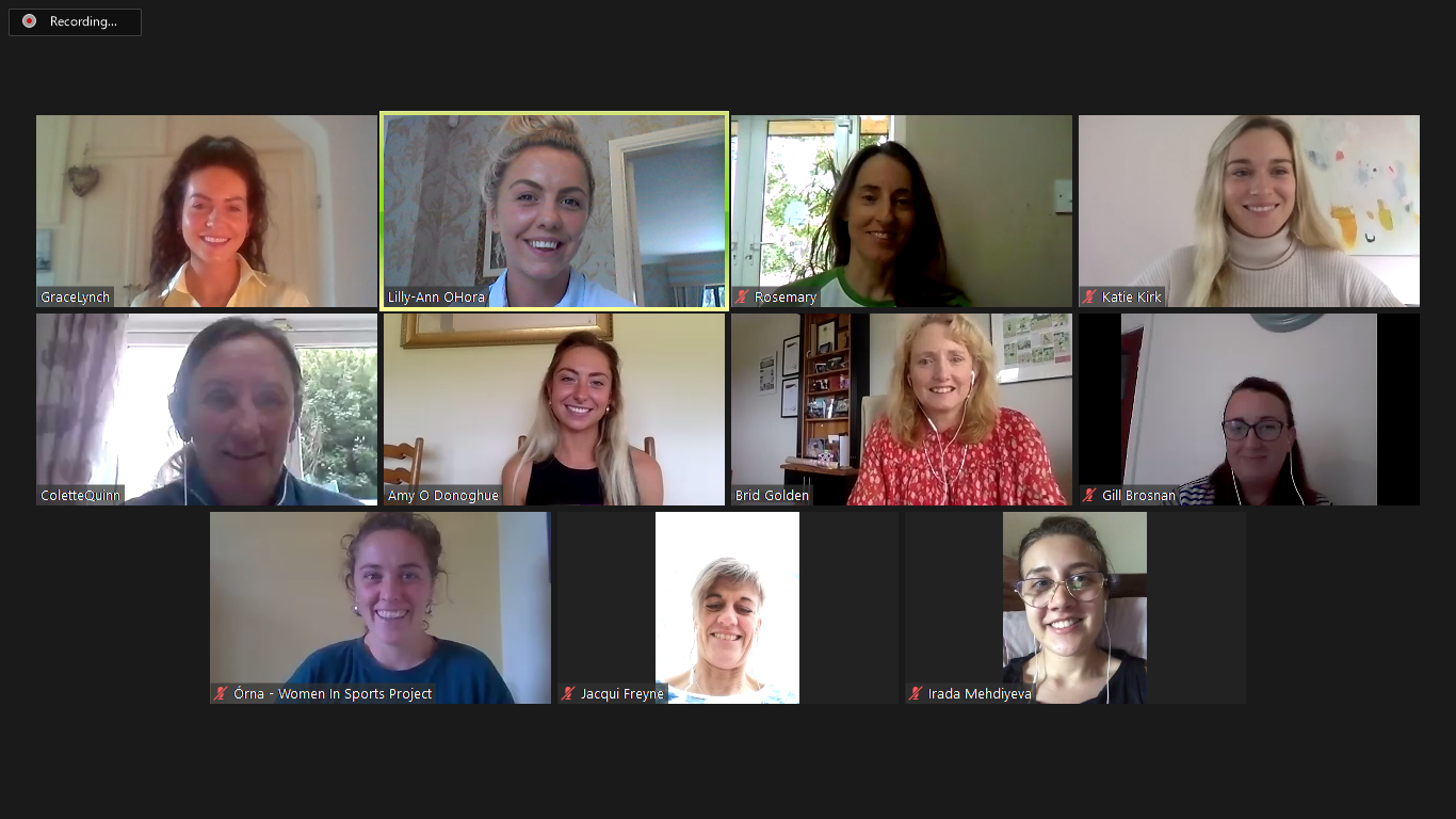 European Athletics Female Leadership Webinar Project