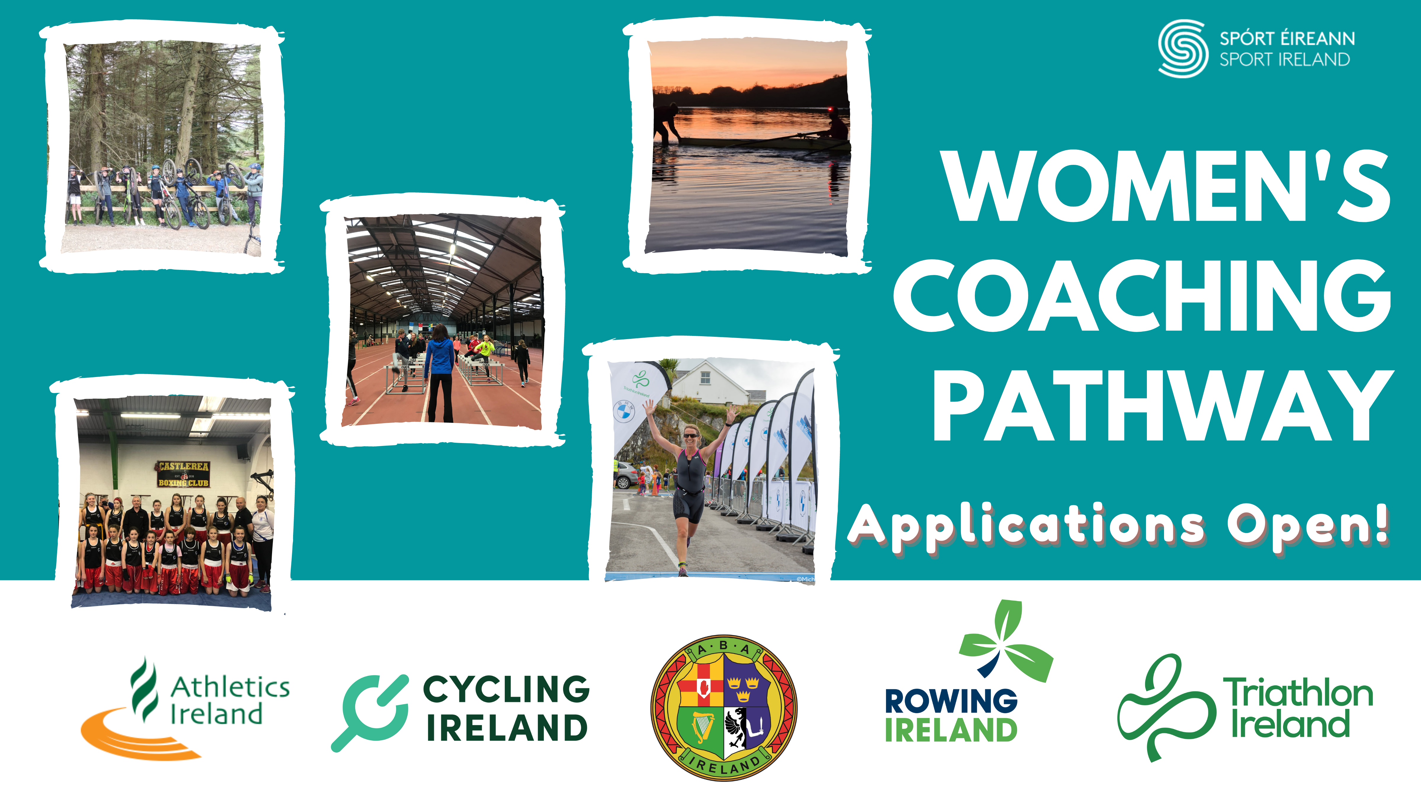 Applications are now open for the Women's Coaching Pathway 2021