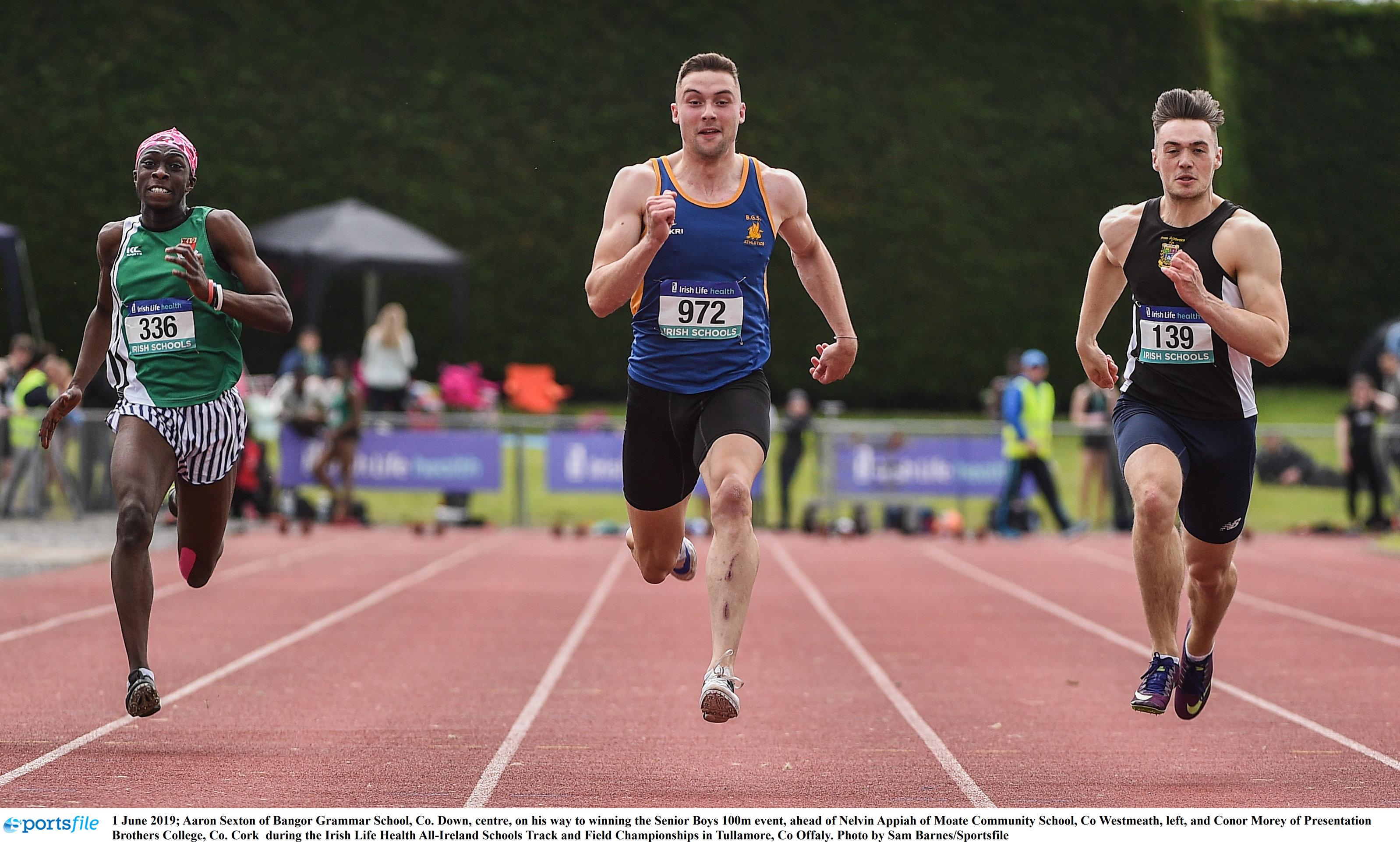 Super Sexton stars at schools' championships