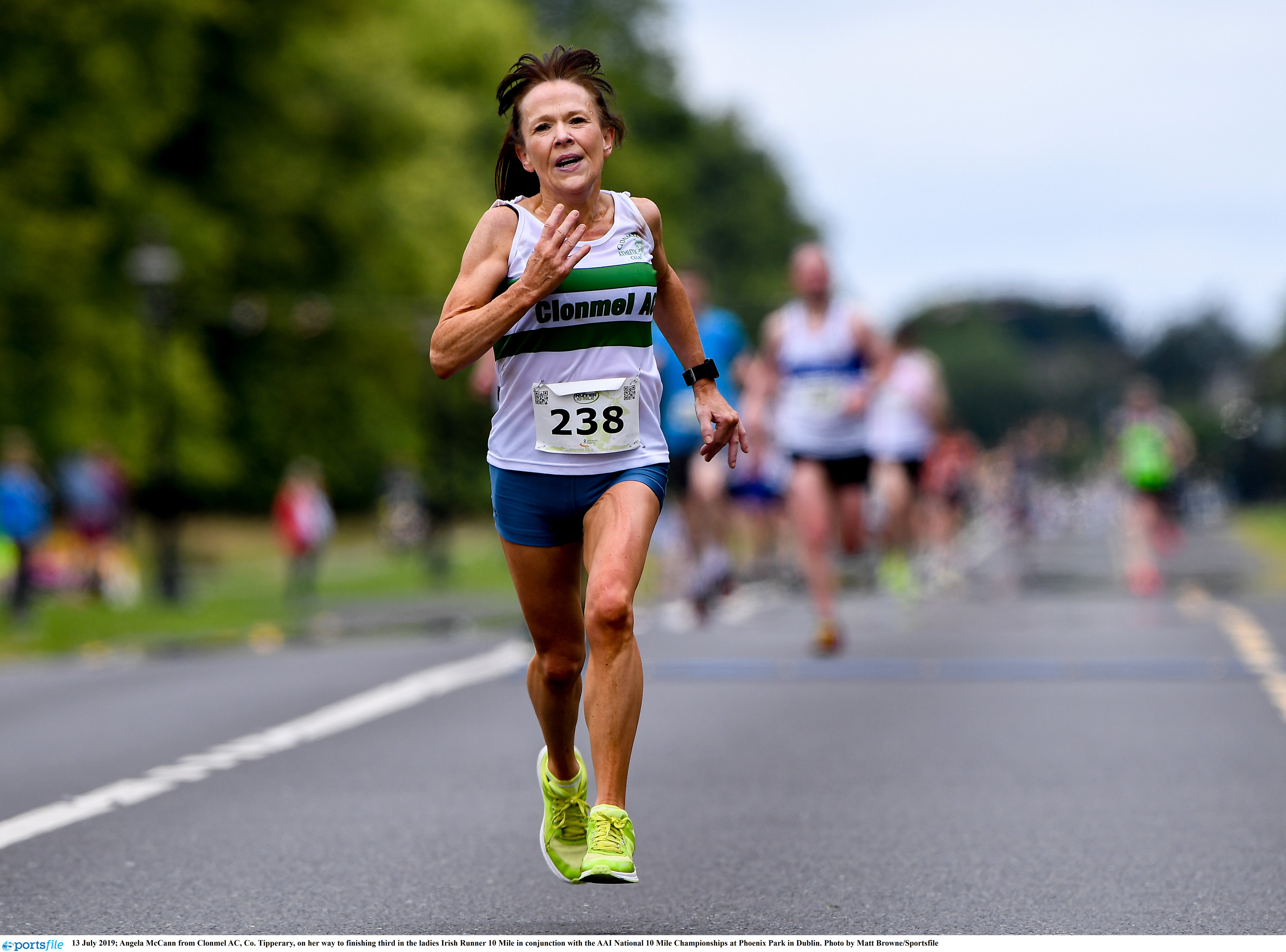 McCann and Derese win national half titles