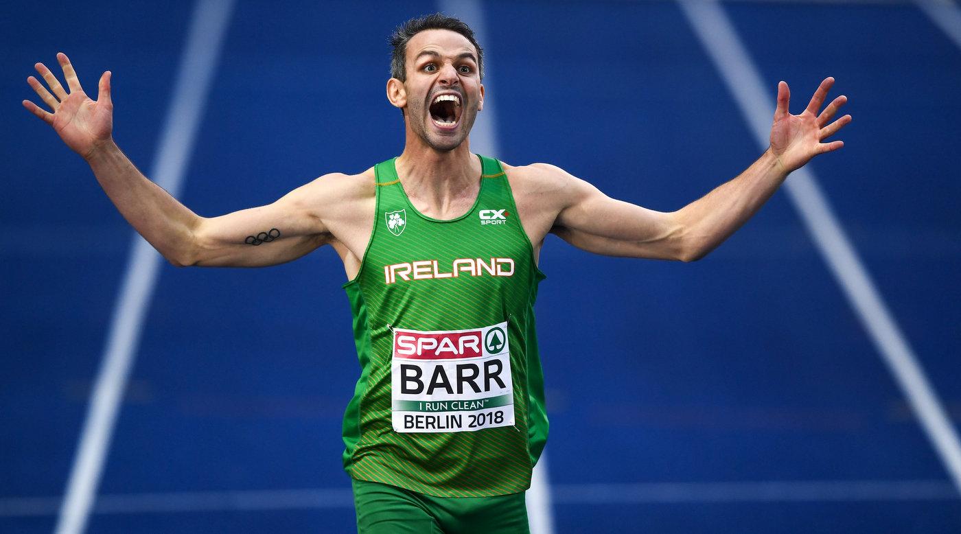 Brilliant Barr wins bronze