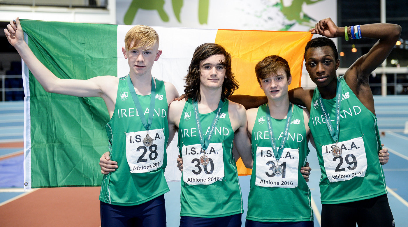 Silver lining for Ireland at Schools Combined Events