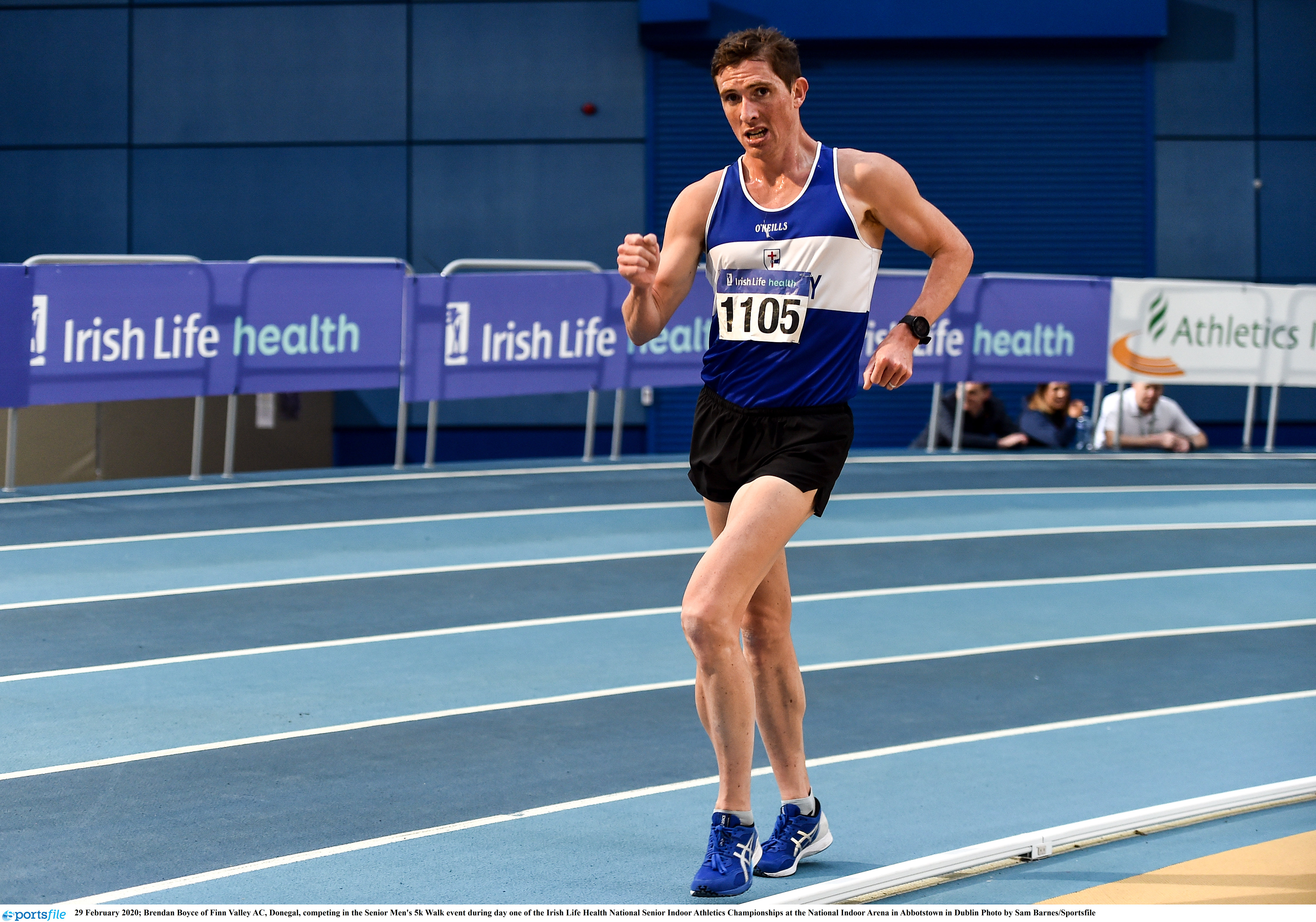 Lead athletes to compete at 20km race walk championships