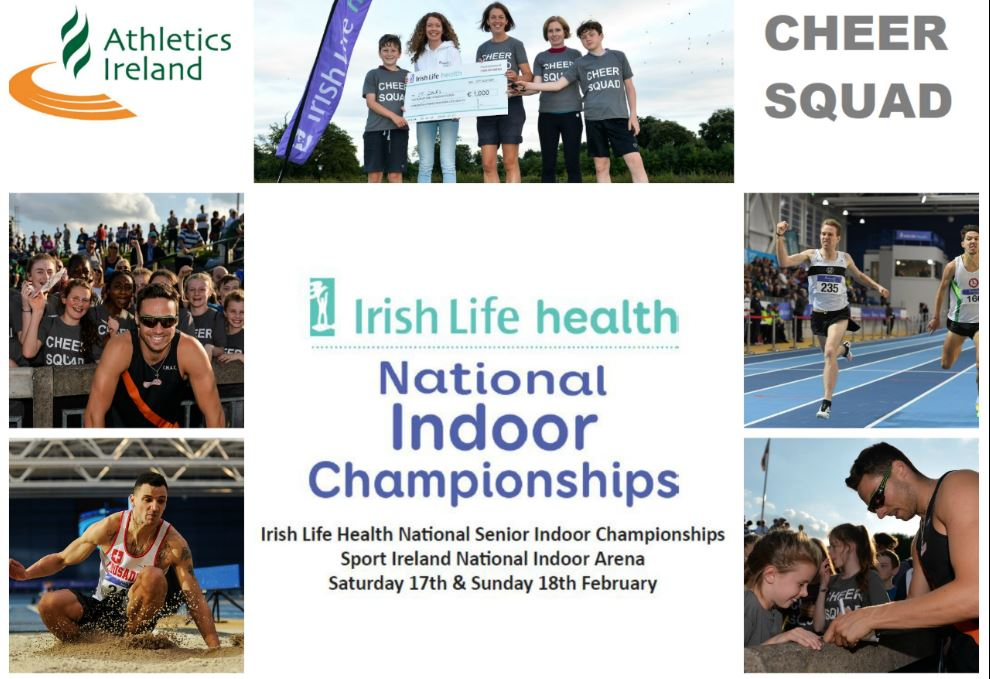 Do you want to win €500 worth of Athletics Equipment for your Club?