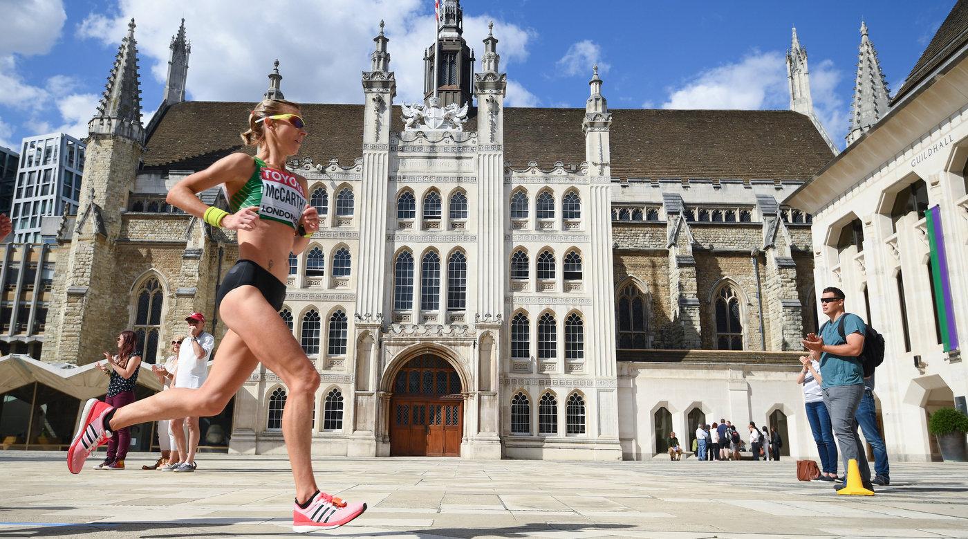 Ten Irish athletes picked for World Half