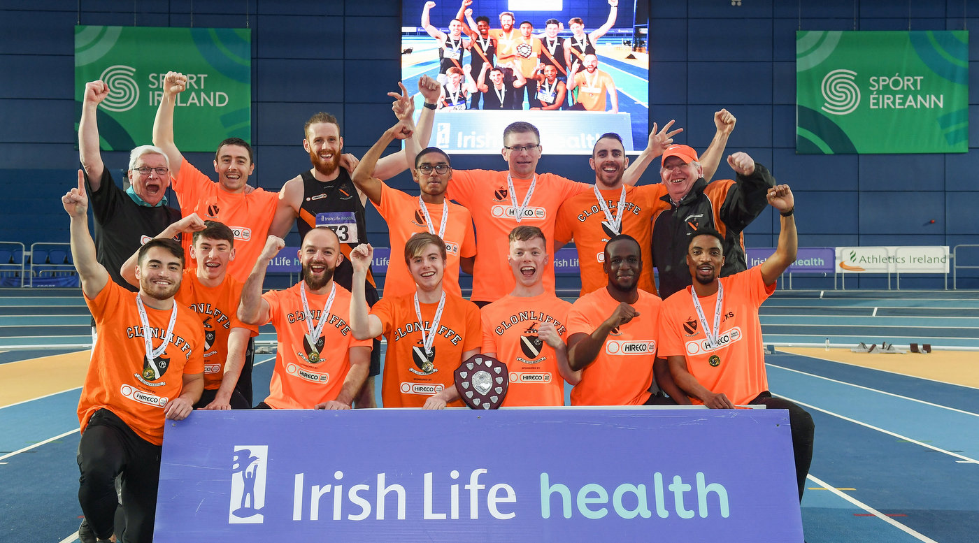 Clonliffe and DCH retain indoor league titles