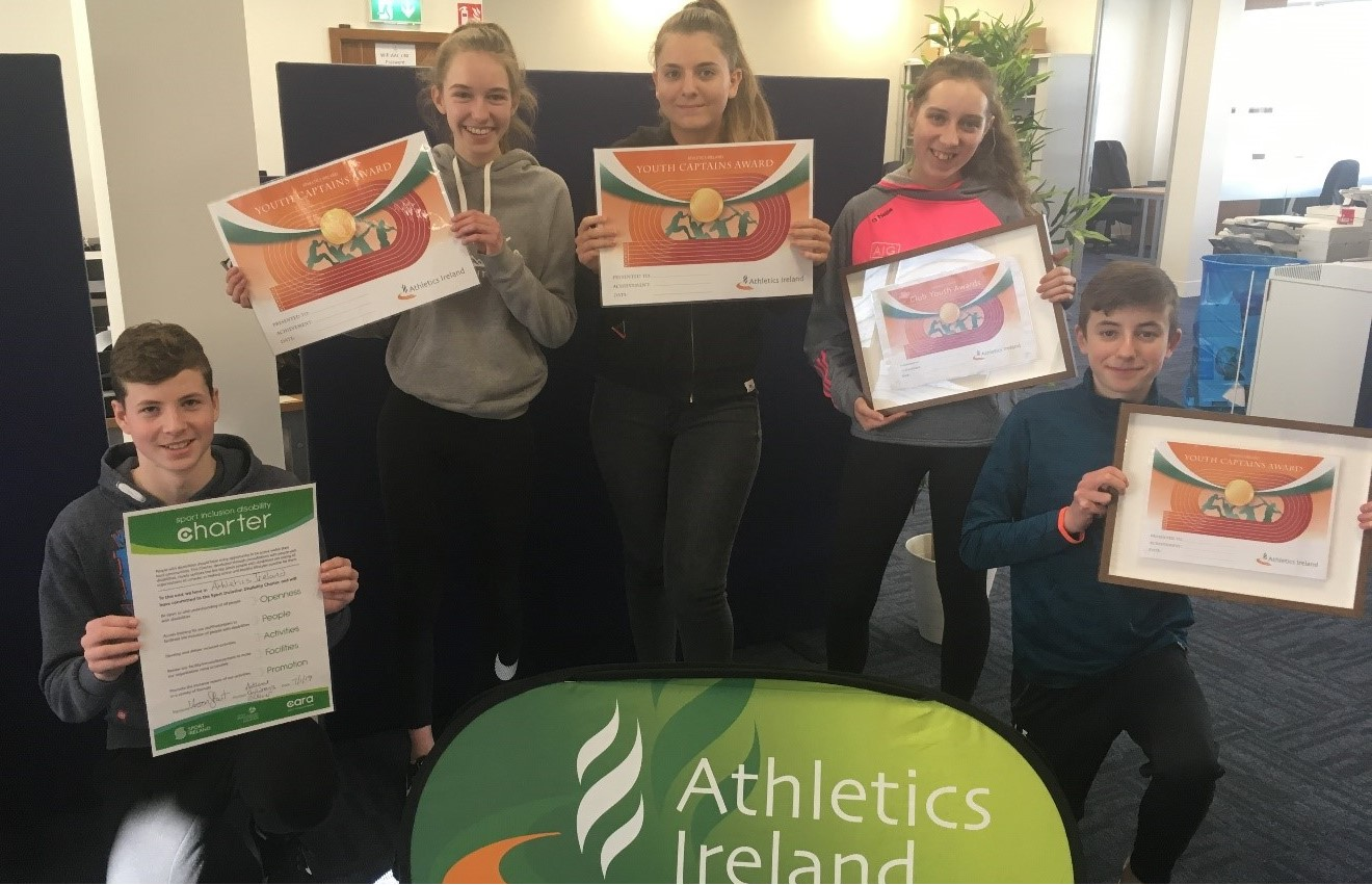 New Athletics Ireland Club Captains Workshop