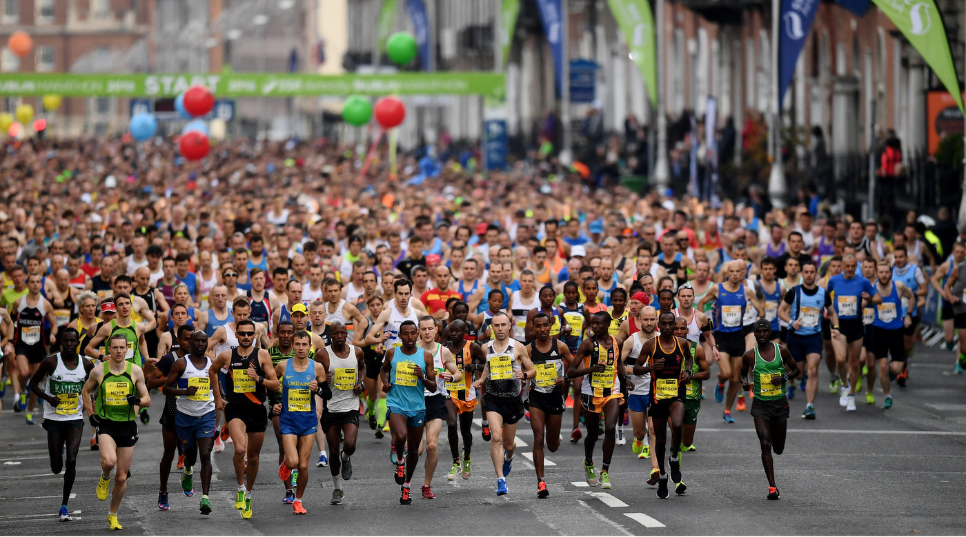 National glory up for grabs at Dublin marathon