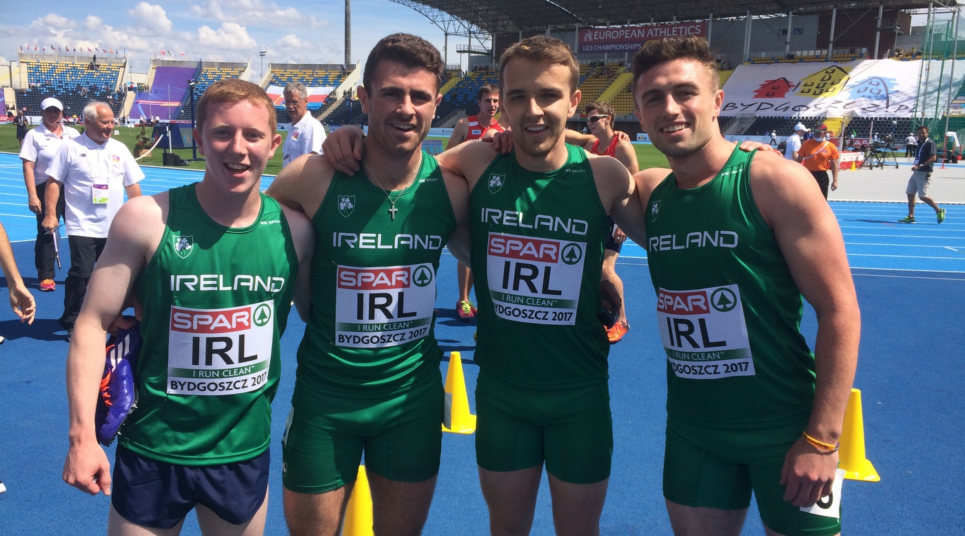 Relay team and McCarthy flourish to European final berths