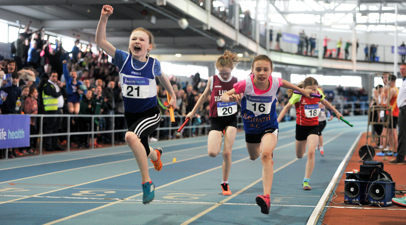 Juveniles round out indoor season in style