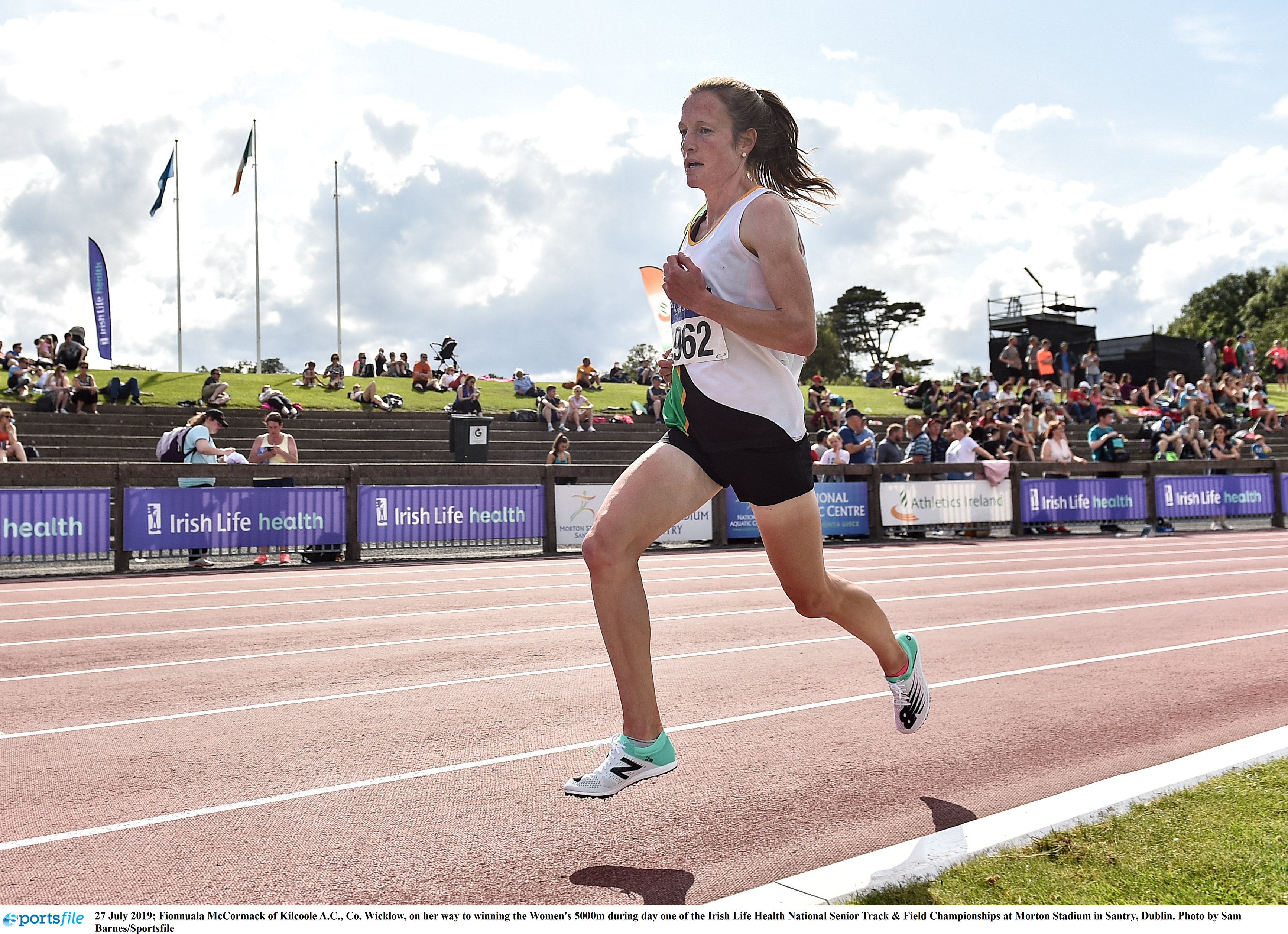 McCormack the queen of the track on day 1
