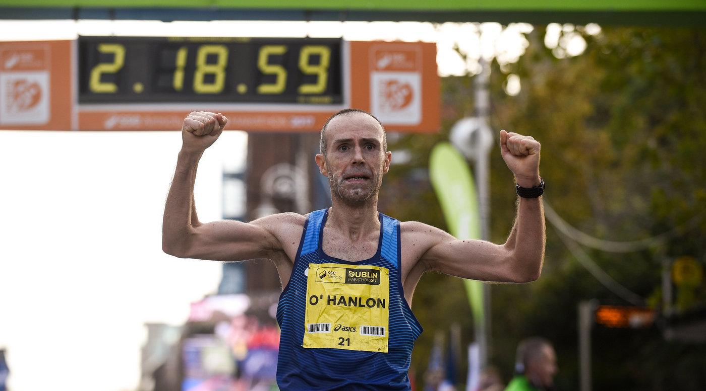 Gary O'Hanlon is Irish National Marathon Champion 2017