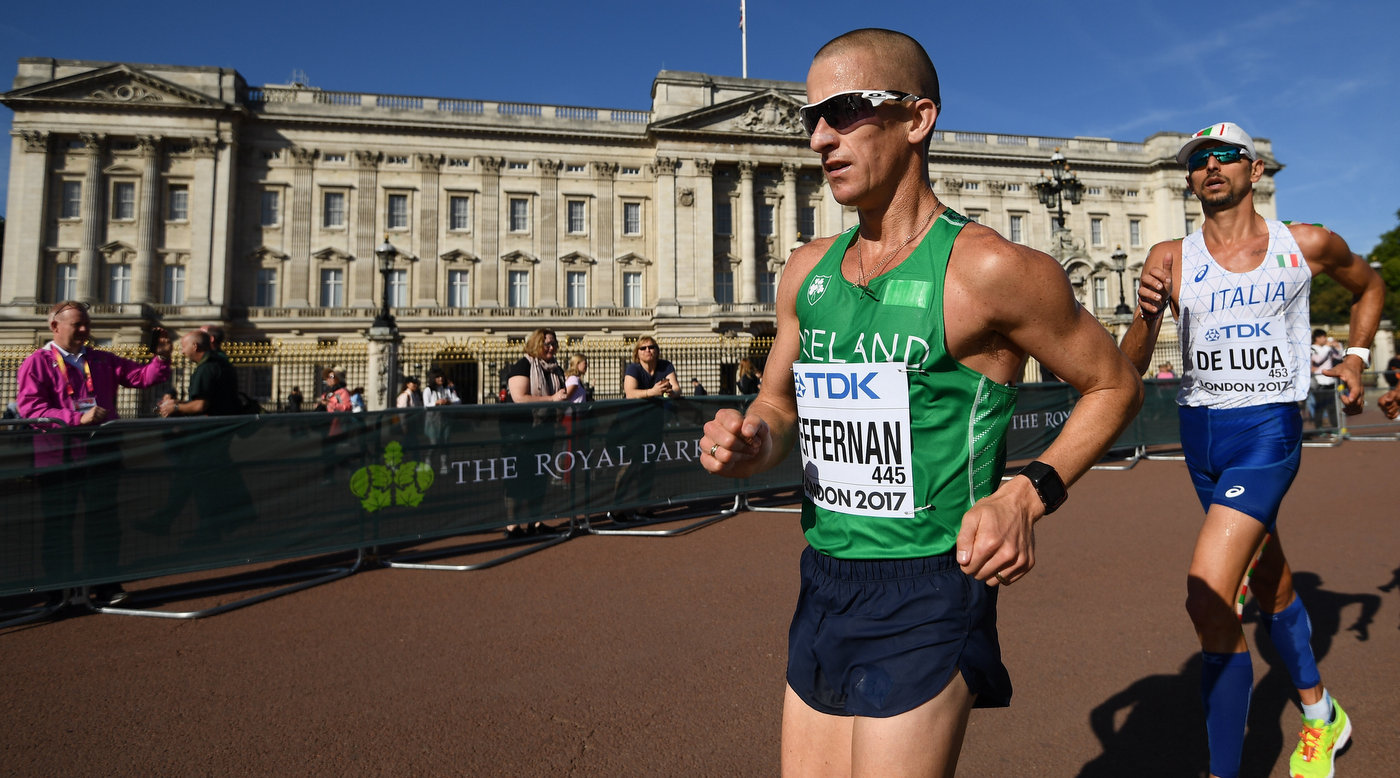 Heffernan crowns great career with top 8 in London