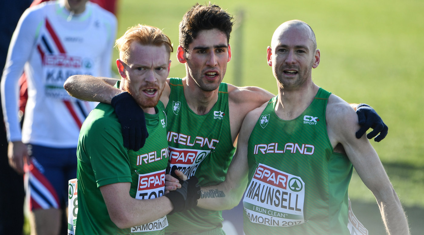 Senior men head good Irish performances at Euro Cross