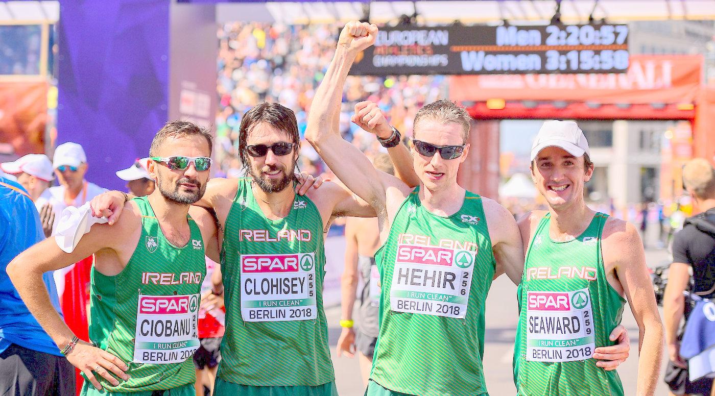Super sixth for men's marathon team