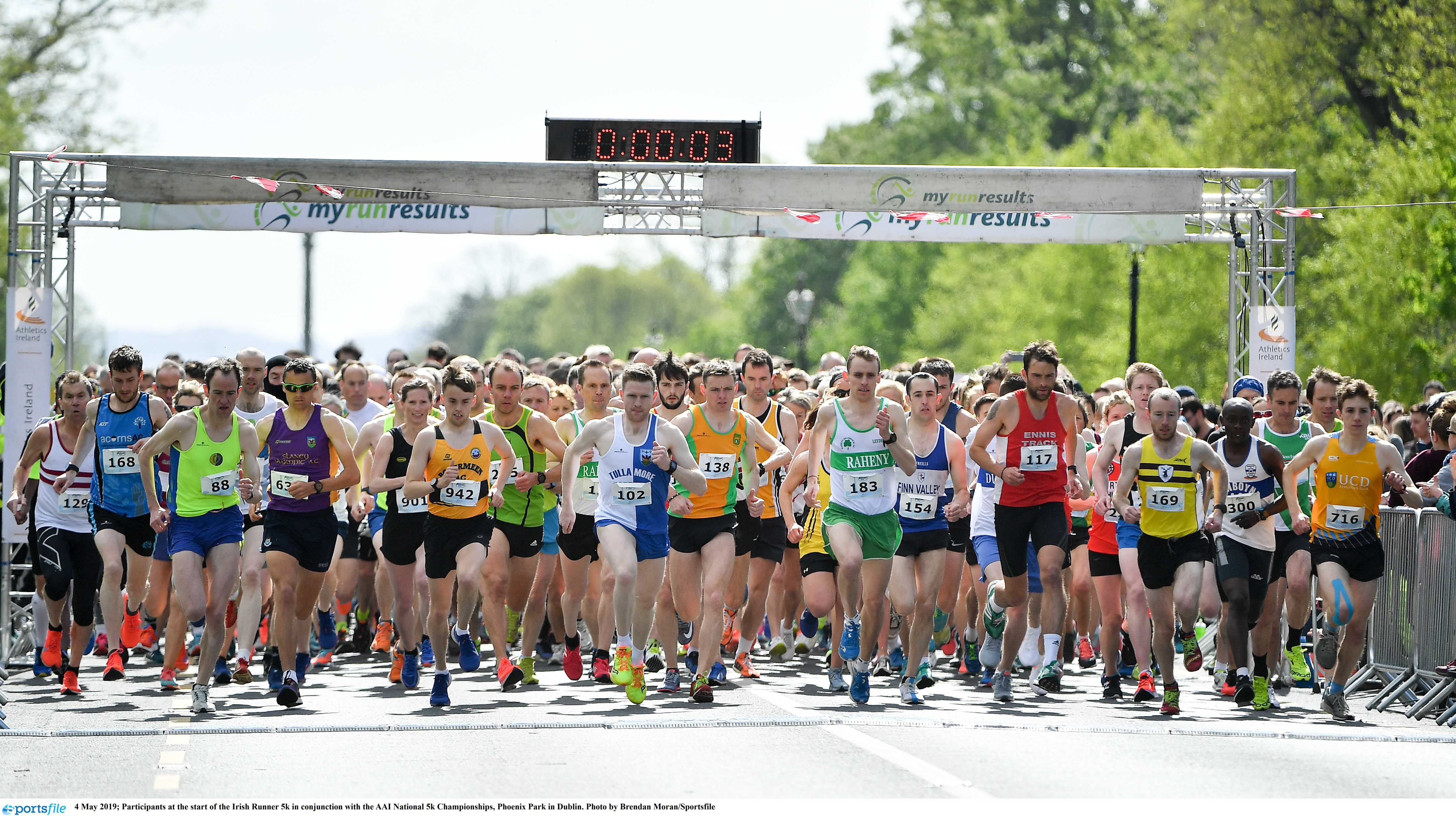 Irish Runner 5 mile set for another great day in the Park