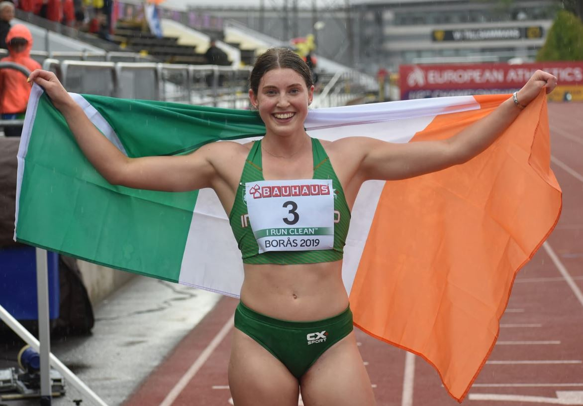 Historic silver for O'Connor at Europeans