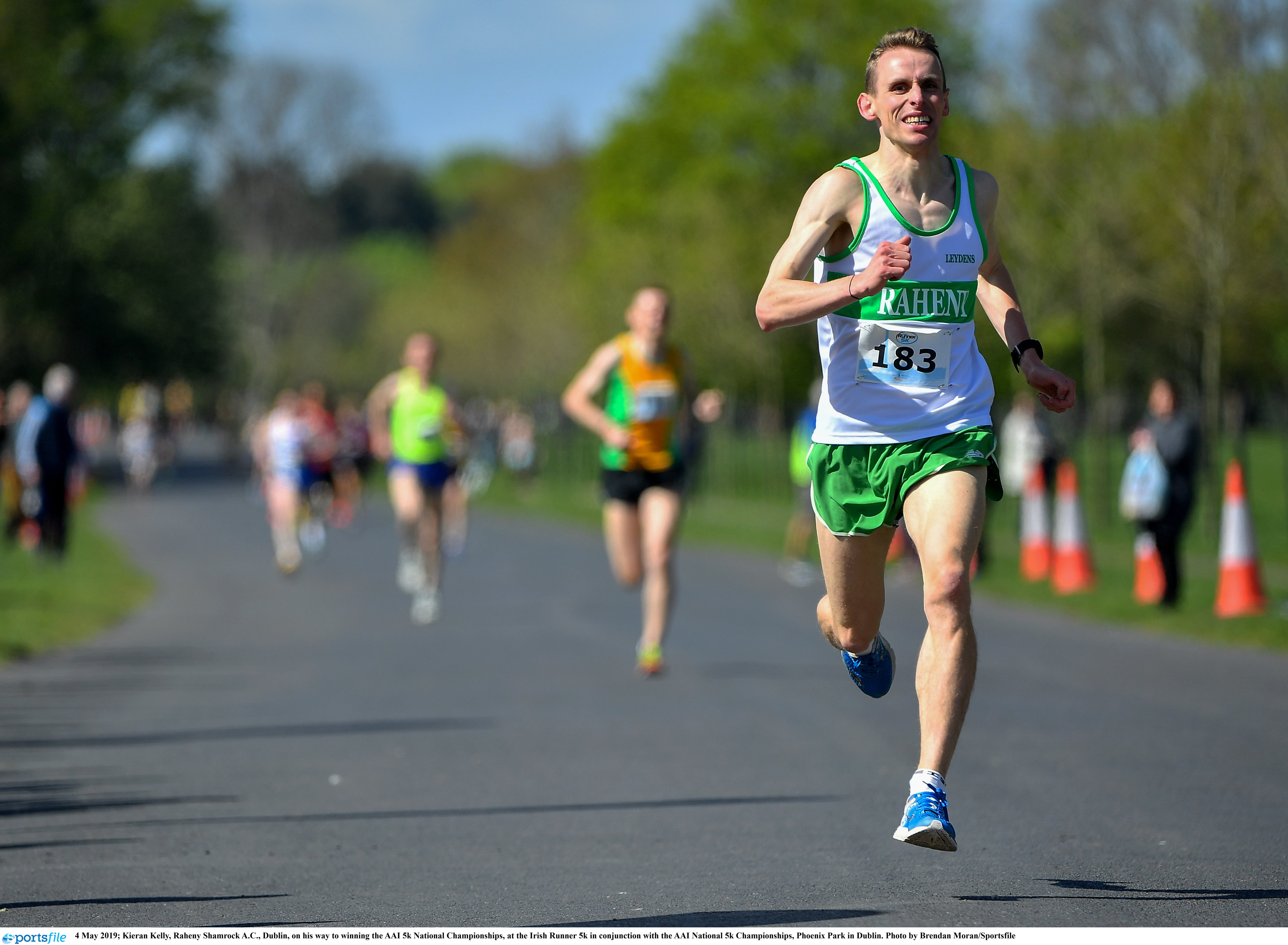 Kelly and McKiernan win inaugural 5k road titles