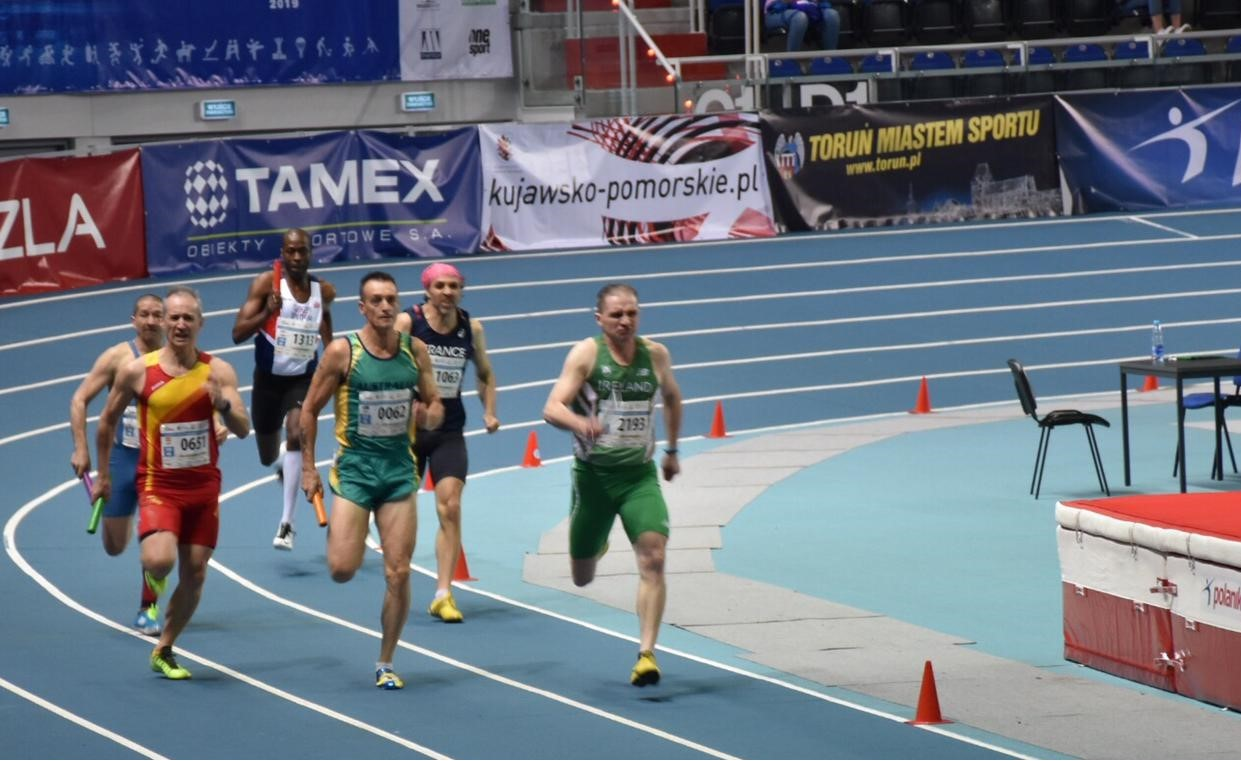 Irish Masters Athletes takes Torun (Poland) by storm!