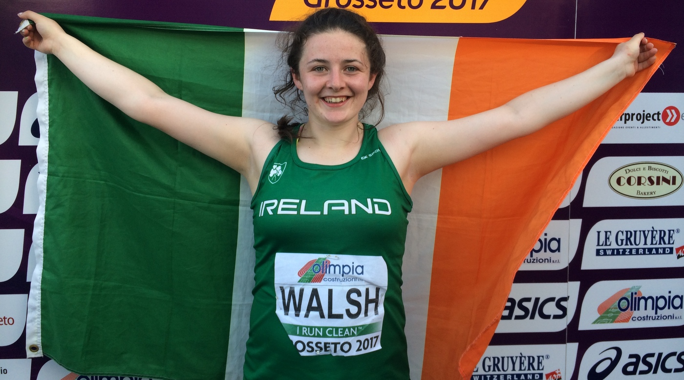 Brilliant Walsh wins bronze continuing Irish success story