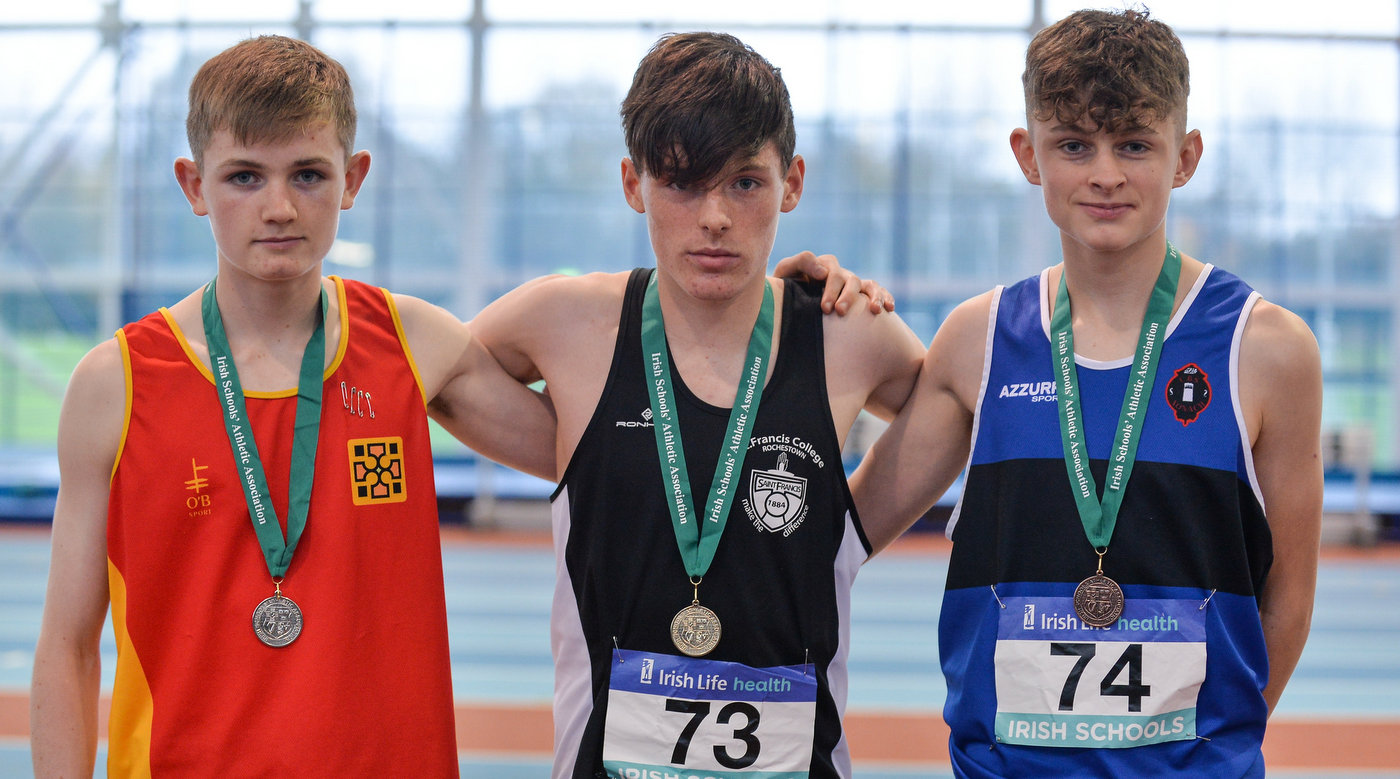 A's in Athlone at Schools Combined Events
