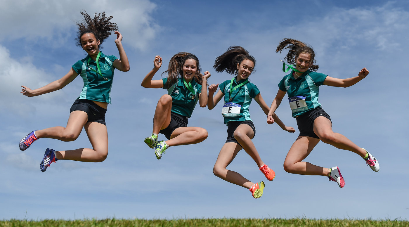Fun in the sun as students shine at Leinster Schools Day 1