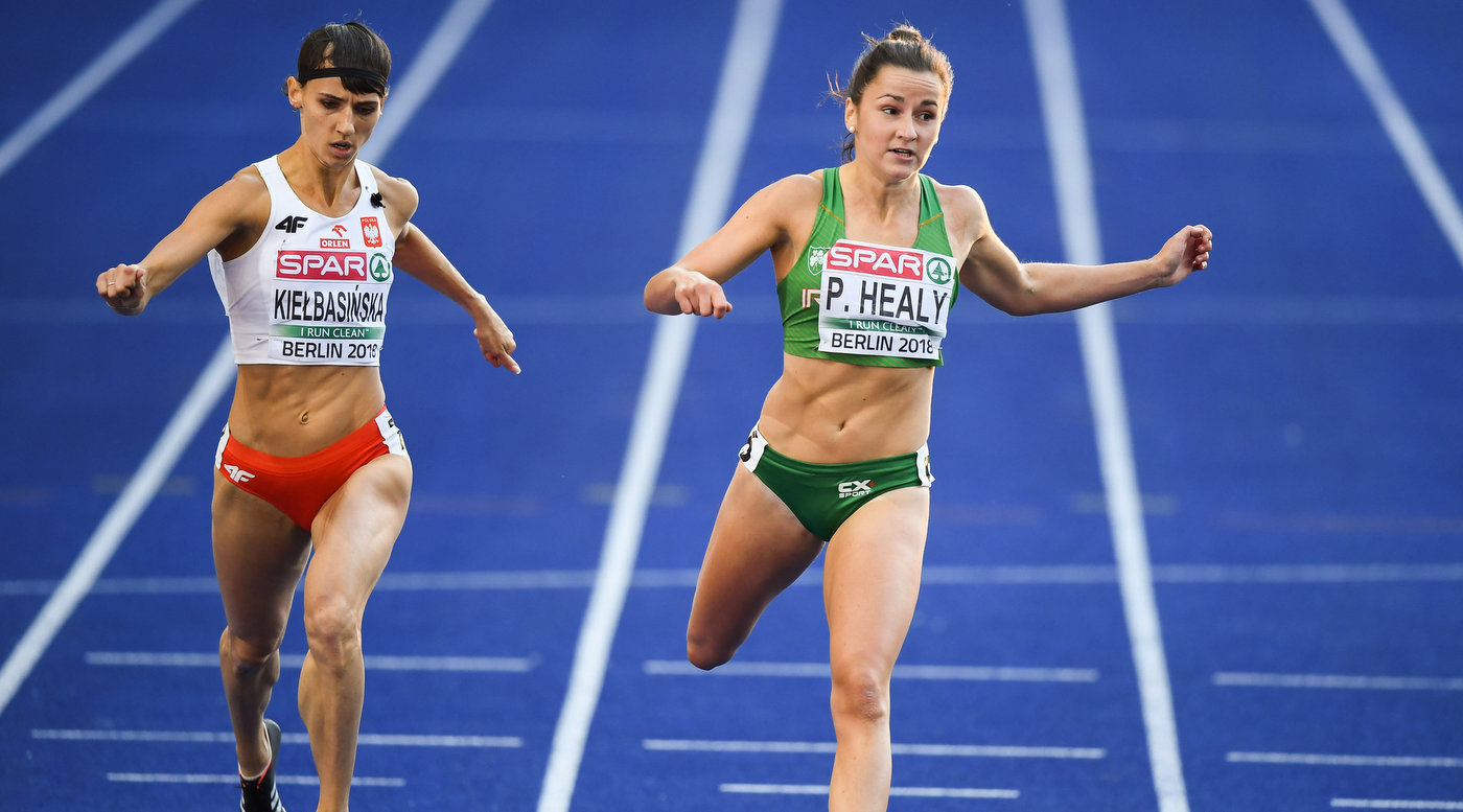 Healy 11th overall in 200m in Berlin