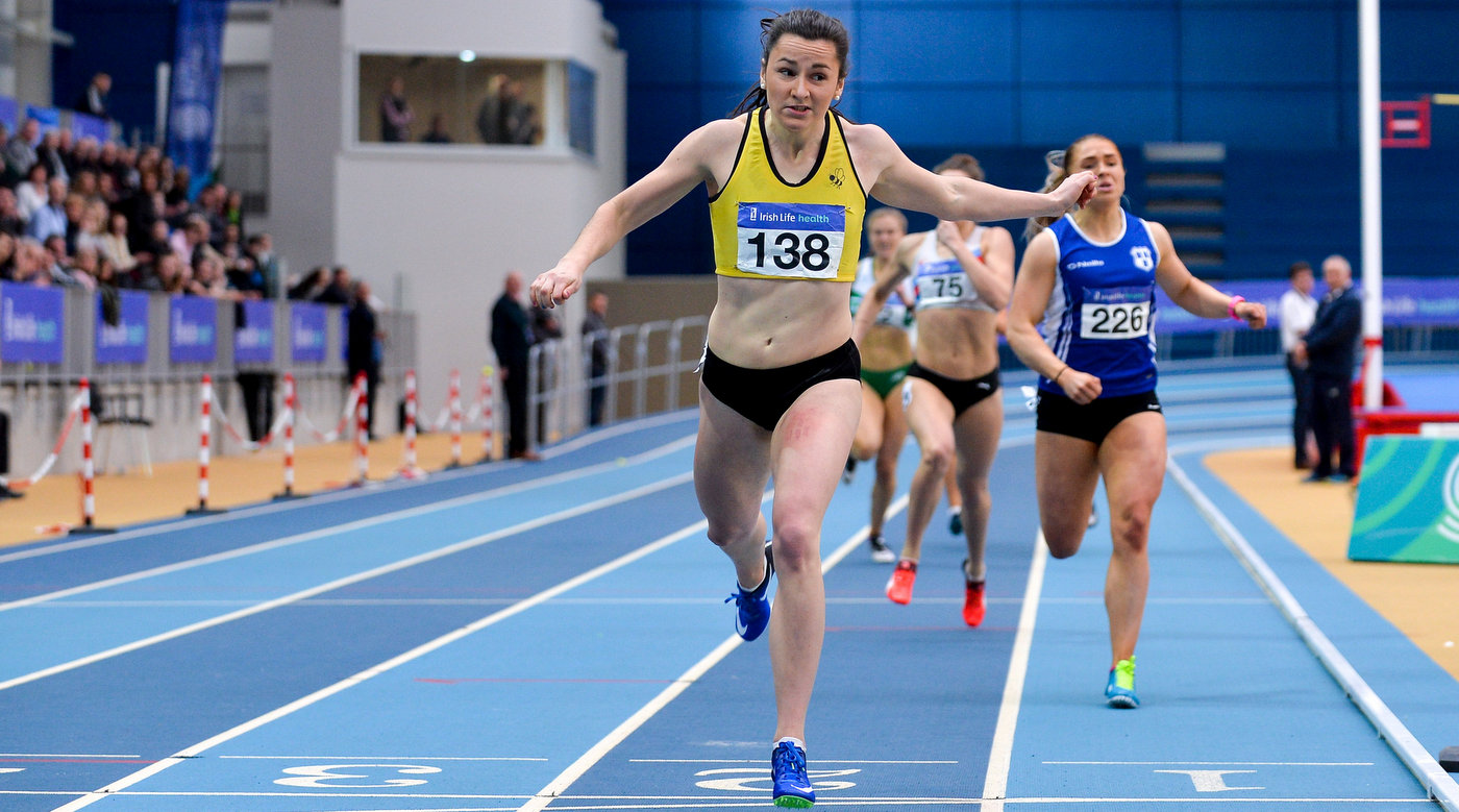 Healy heads team of four for World Indoors