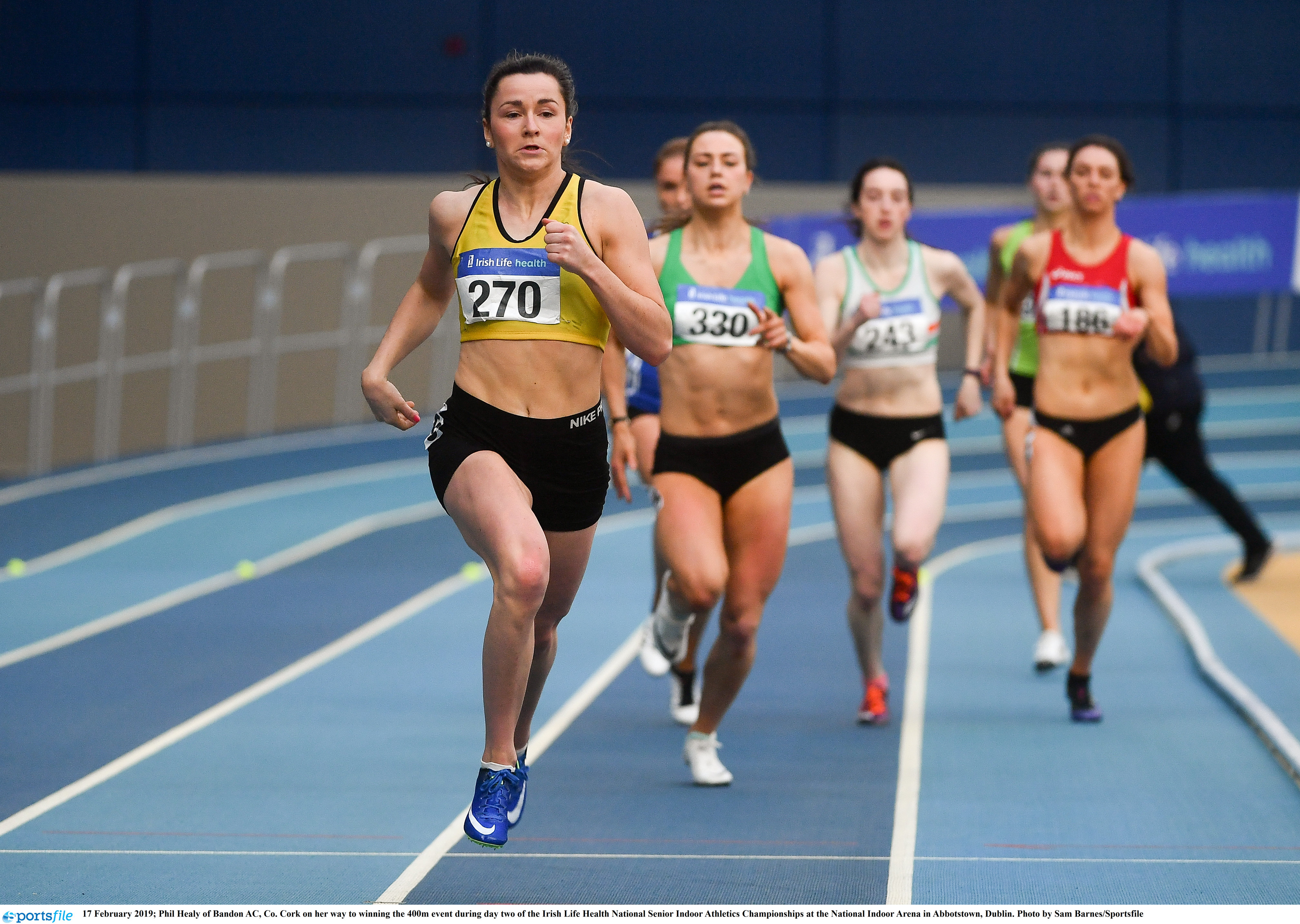 Strong Irish team selected for European Indoors