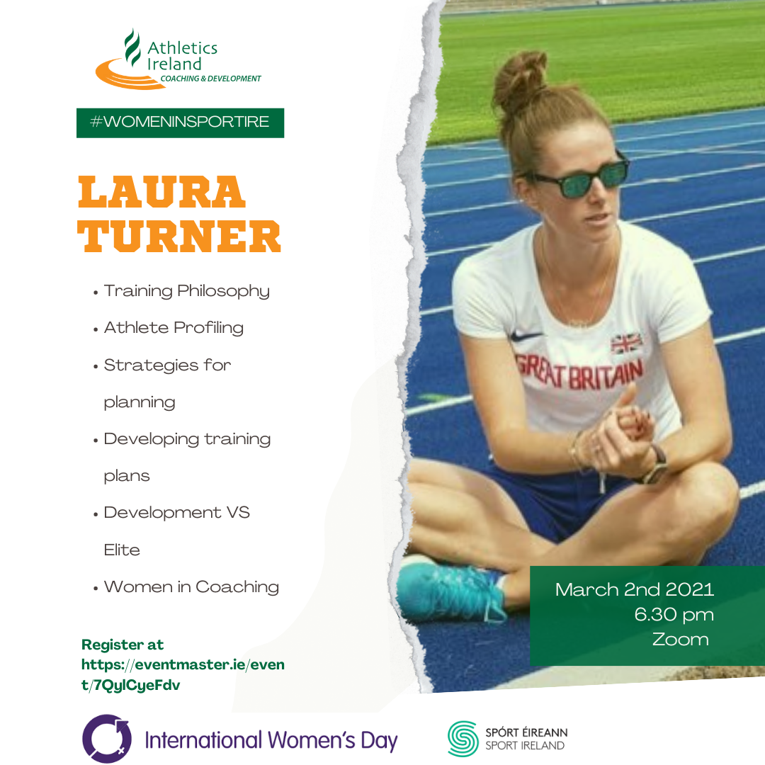 Women in Coaching – Laura Turner