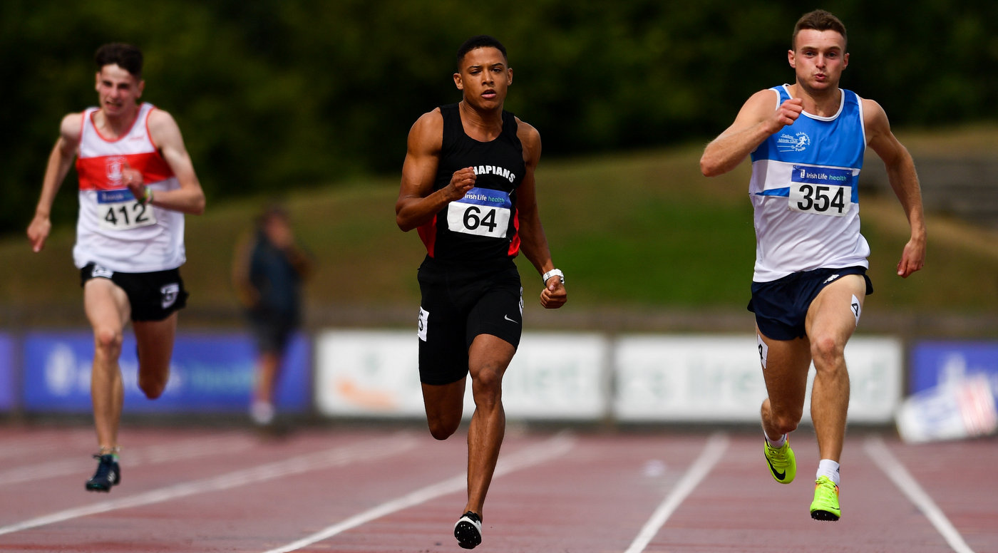 Reid edges Lawler in 200m thriller on day 1