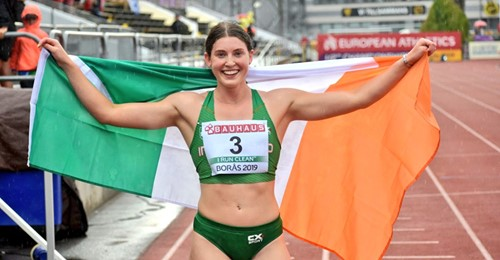 New National Heptathlon record for Kate O'Connor