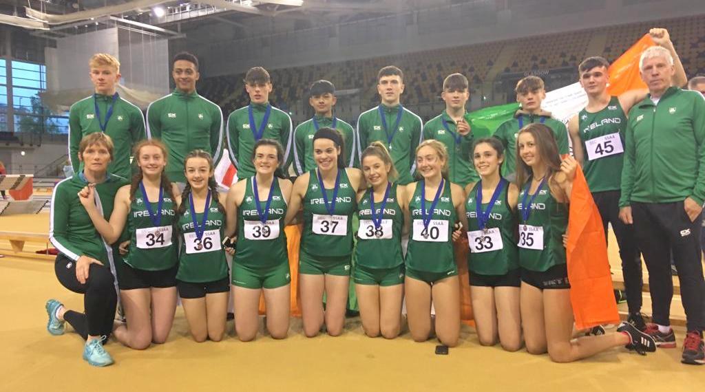 Irish team combine to win medals aplenty