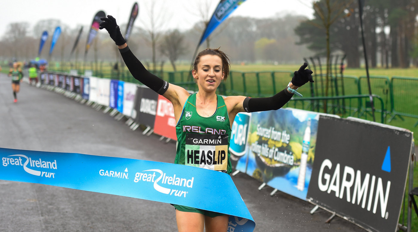 Heaslip reigns supreme in the park