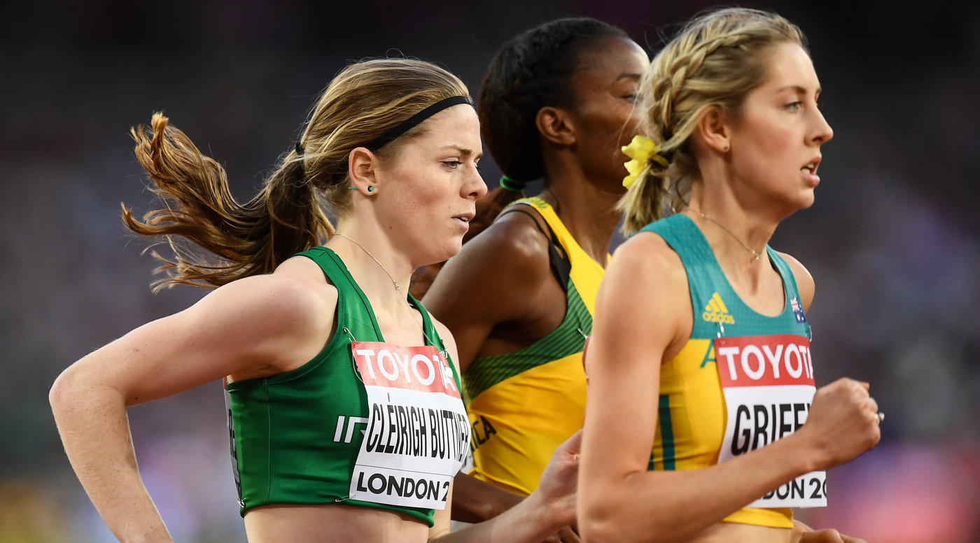 Cleirigh Buttner bows out in 800m heats on global debut