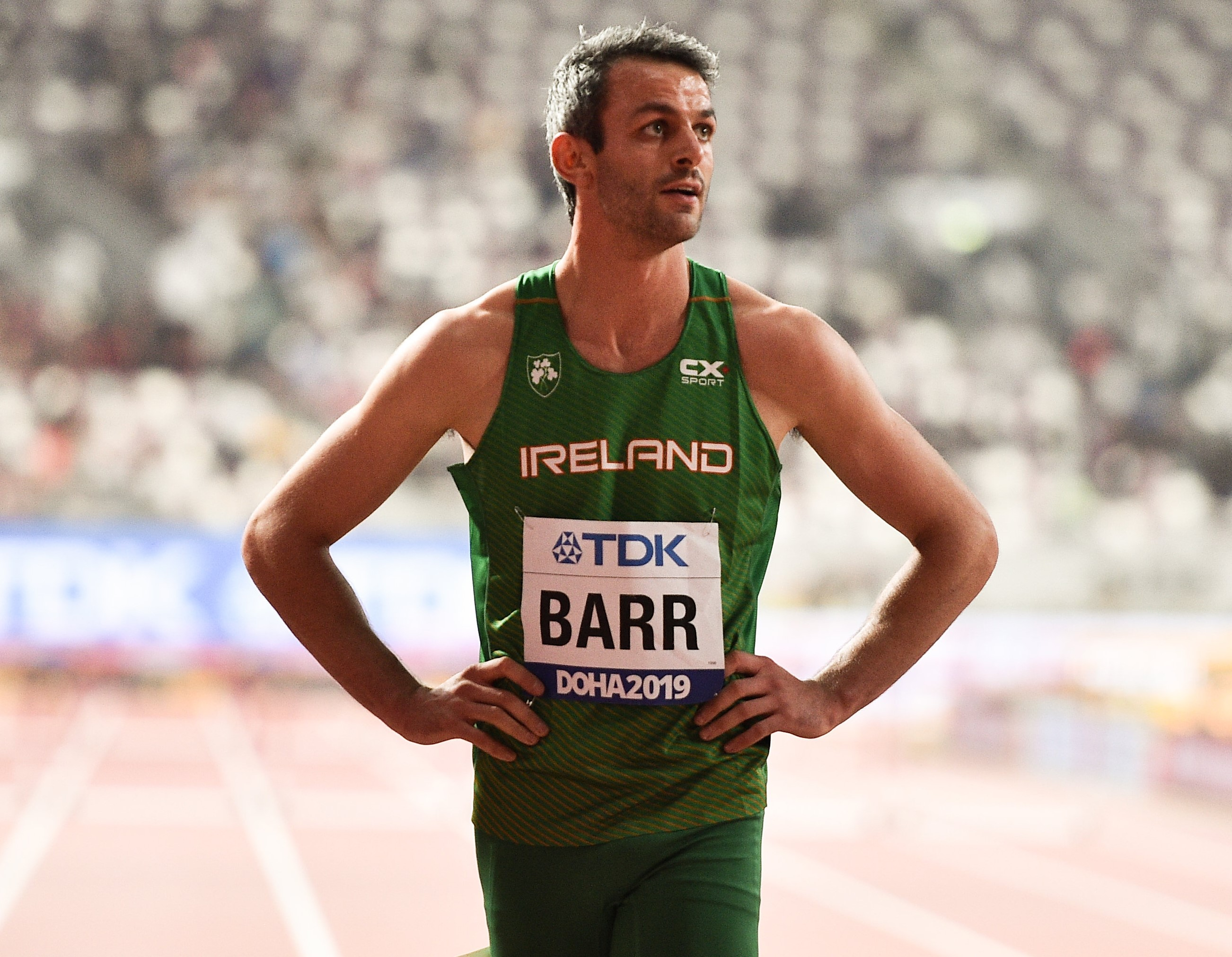 Barr just misses out on world final