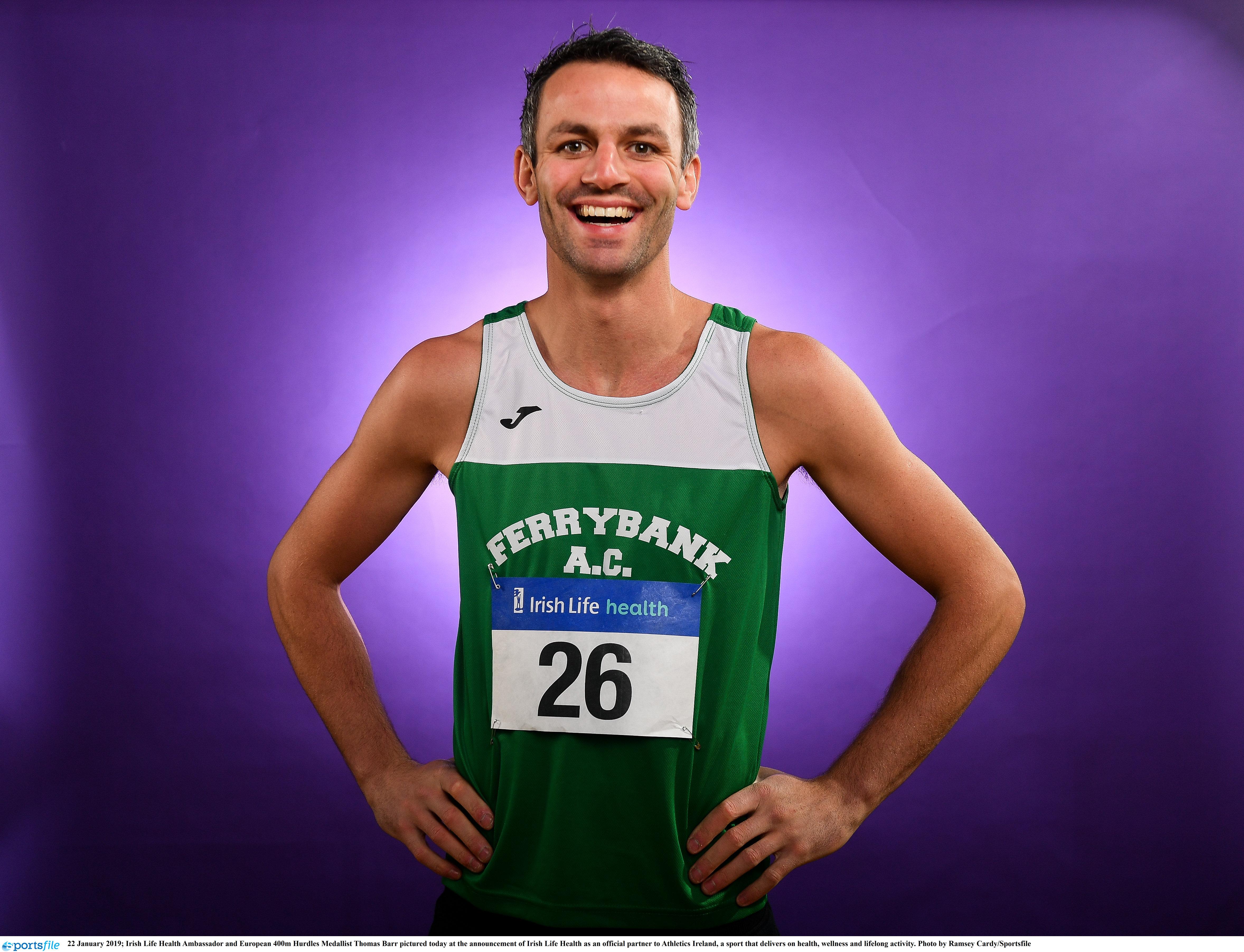 Irish stars to compete at national indoors