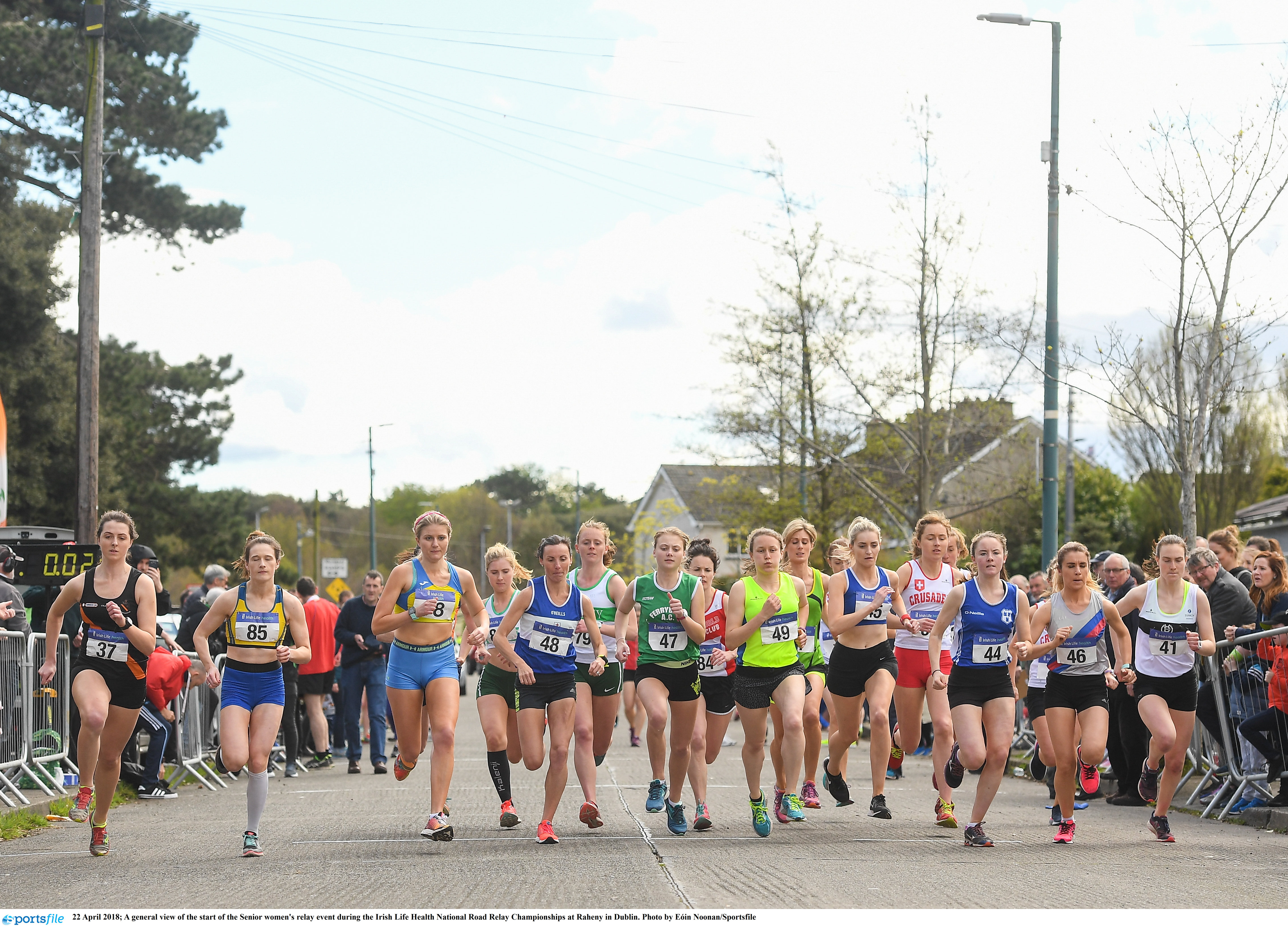 Bumper entry for National Road Relays
