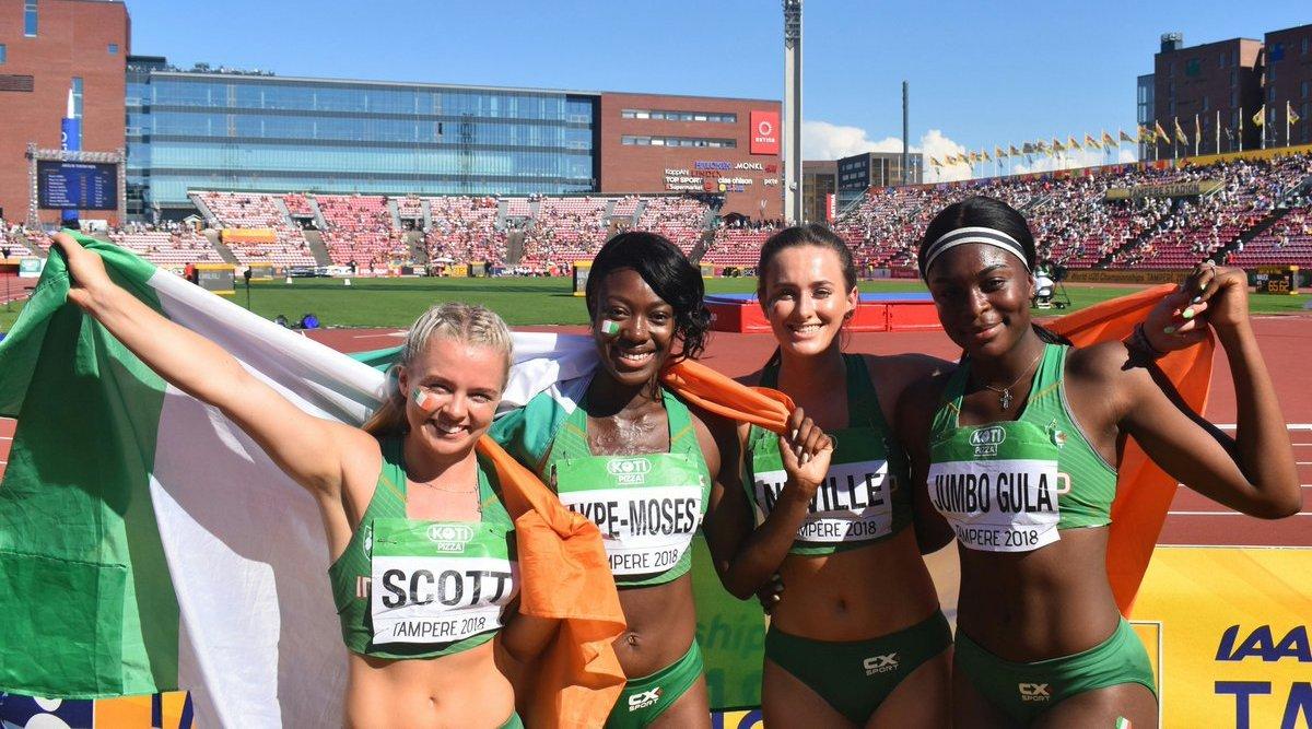 Historic world silver relay run